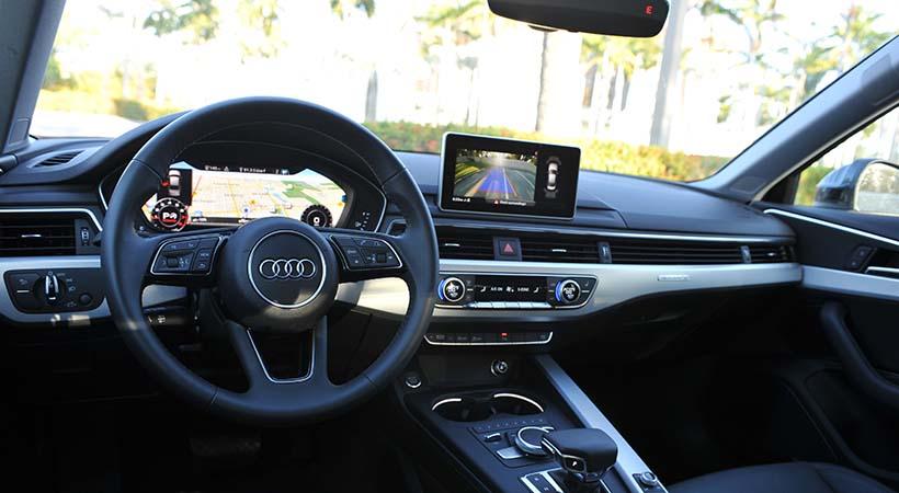 Test Drive Audi A4 S Tronic 2018
