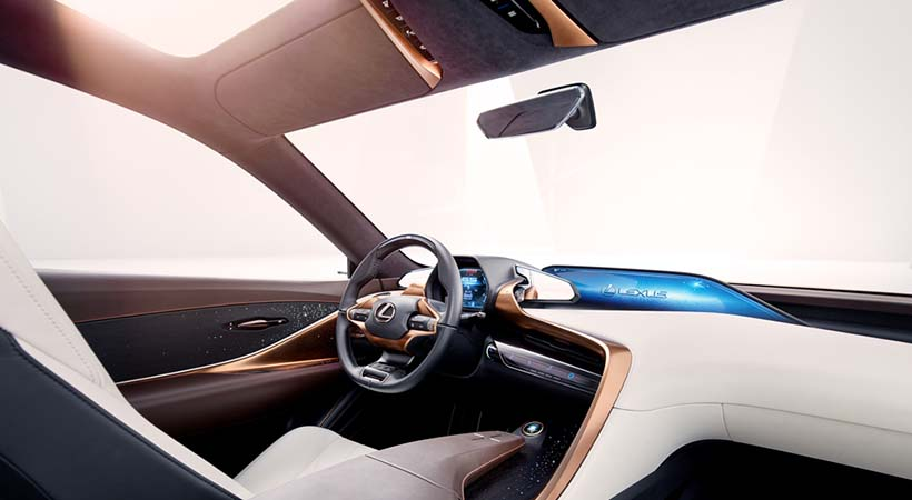 Top 5 novedades Lexus LF-1 Limitless