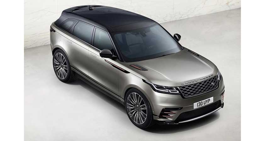 Video Range Rover Velar First Edition 2018