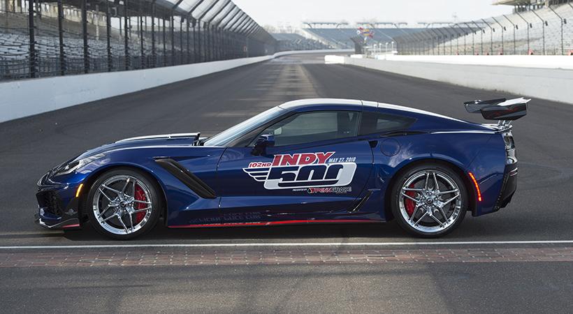 Chevrolet Corvette ZR1 Pace Car Indy 500 con sus 755 HP