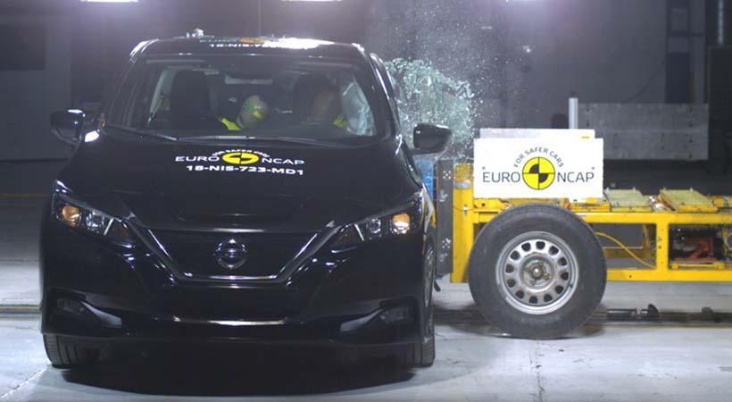 Nissan LEAF el auto eléctrico más seguro del mundo