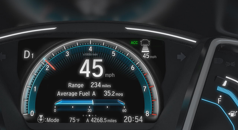 Un millón de autos con Honda Sensing