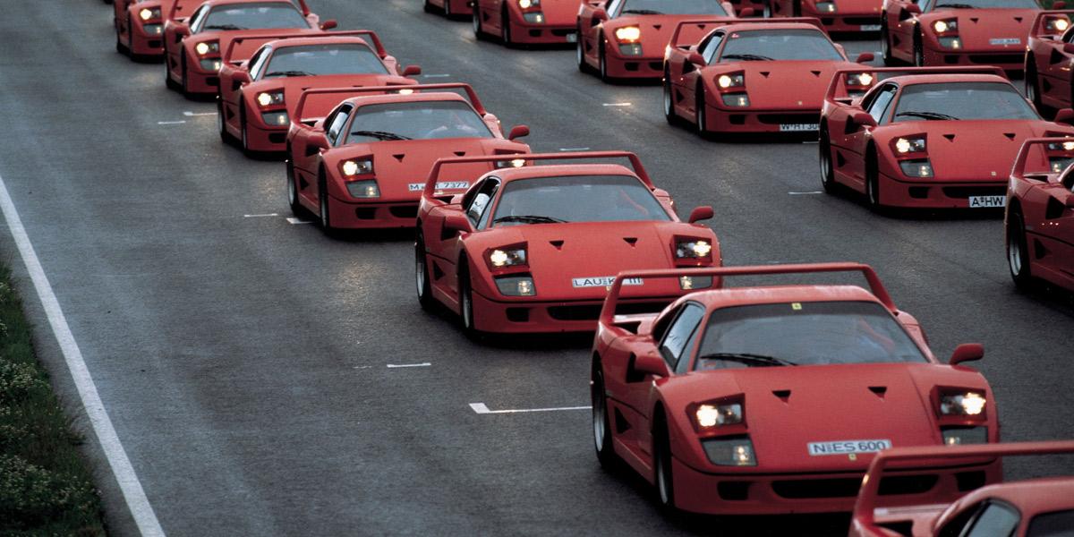 Top 10 mejores Ferrari de todos los tiempos