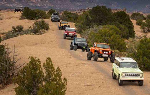Video Jeep en el Easter Jeep Safari 2018