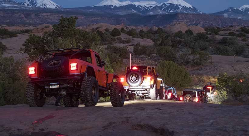 Video Jeep en la 52ª edición anual del Easter Jeep Safari