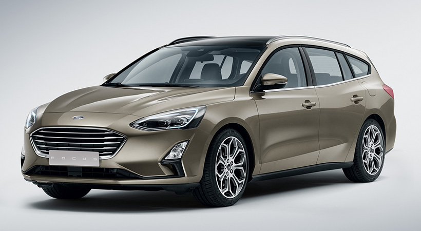 Debut global Ford Focus 2019