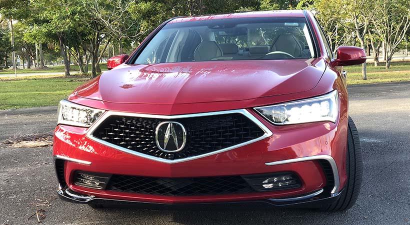 Test Drive Acura RLX 2018