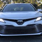 Test Drive Toyota Camry Hybrid 2018