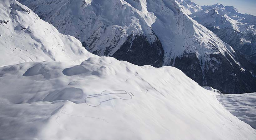 Defender en los Alpes Franceses