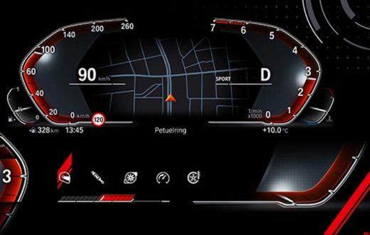 Sistema operativo BMW 7.0, nueva era de instrumentos digitales