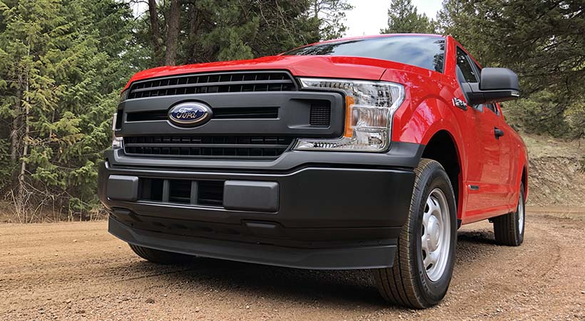 Test Drive Ford-F 150 Power STroke Diesel