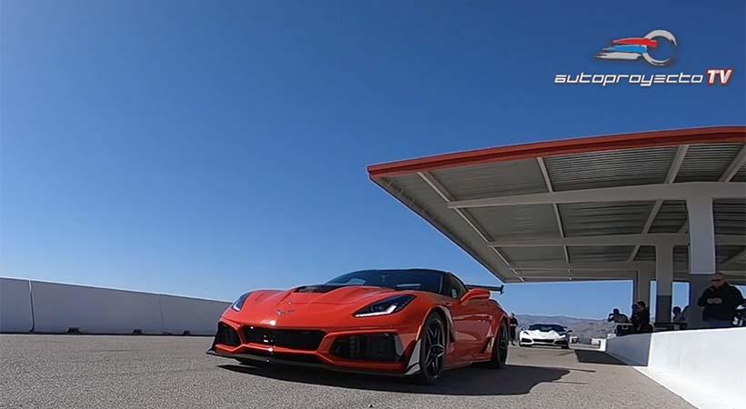 Hot Lap Corvette ZR1 2019 en Las Vegas Motorspeedway con Tony Kanaan