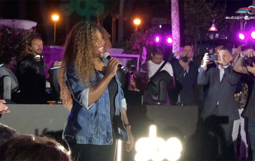 Lincoln celebró con Serena Williams en el Delano, Miami Beach