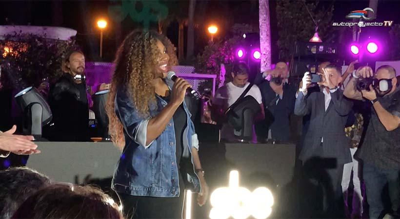 Lincoln celebró con Serena Williams en el Delano, Miami Beach
