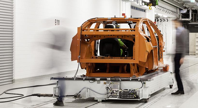Centro de Seguridad Volkswagen para 800 pruebas de choque al año