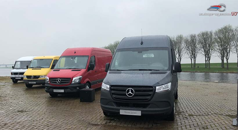 Video Mercedes-Benz Sprinter 2019