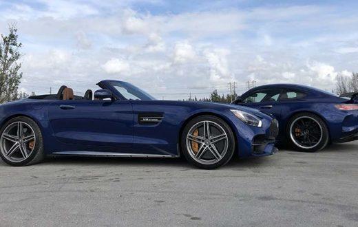 Mercedes-AMG GT R vs Mercedes-AMG GT C