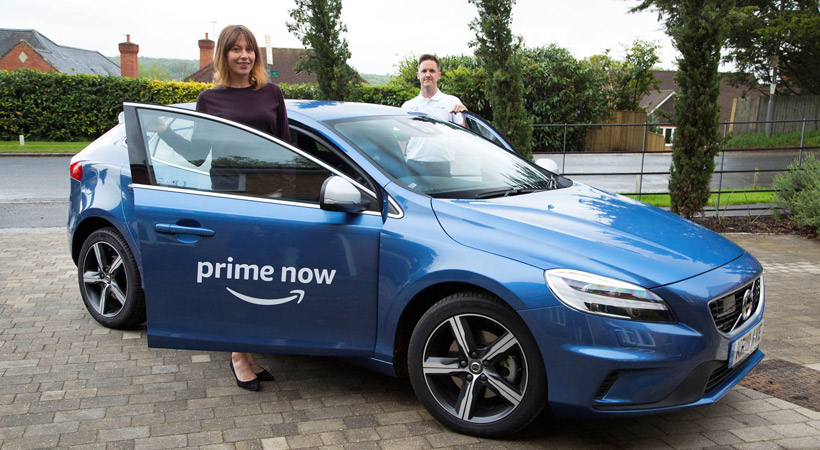 Amazon manda un Volvo a tu casa