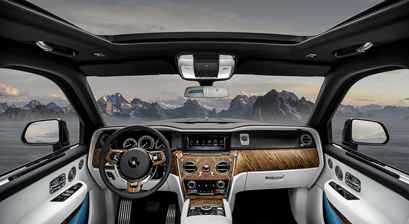 Debut Rolls-Royce Cullinan