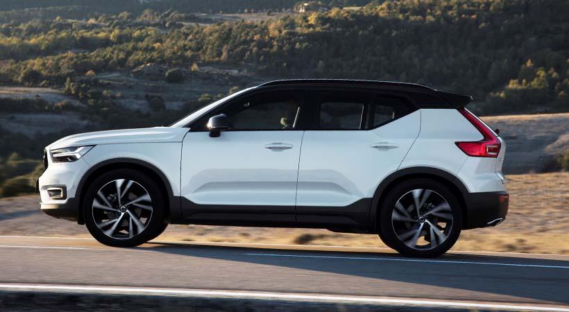 Exito de ventas Volvo XC40
