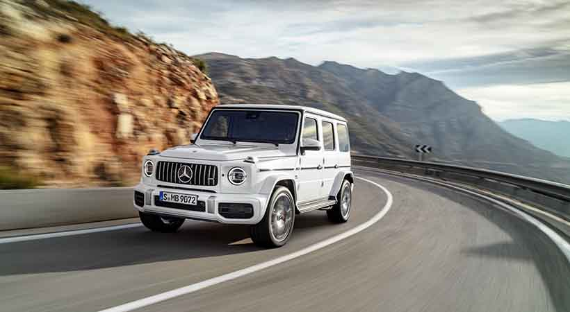 Video Mercedes-AMG G63 2019