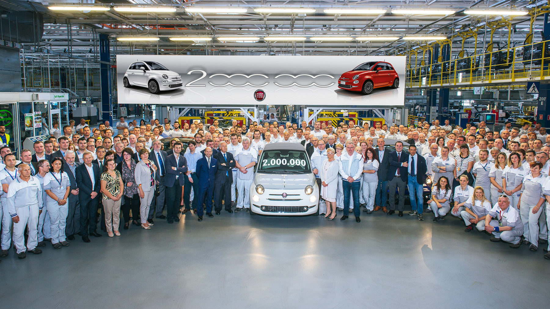Fiat 500 dos millones