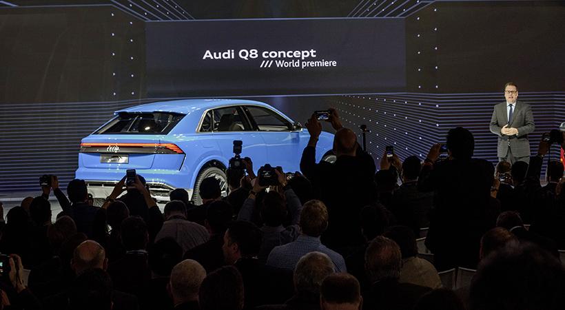 Audi se retiró del Auto Show Detroit 2019