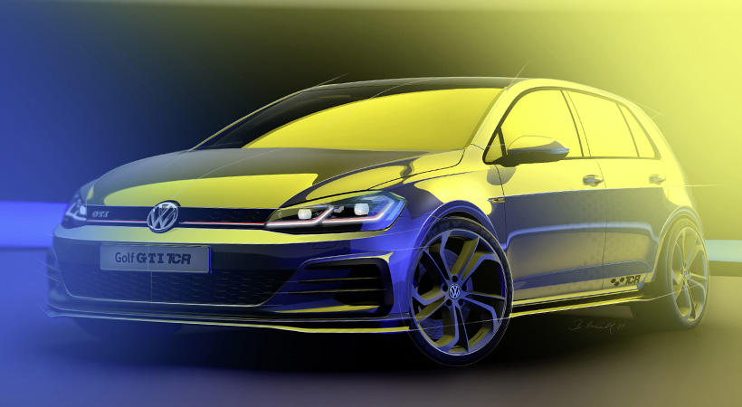 Debut Volkswagen Golf GTI TCR