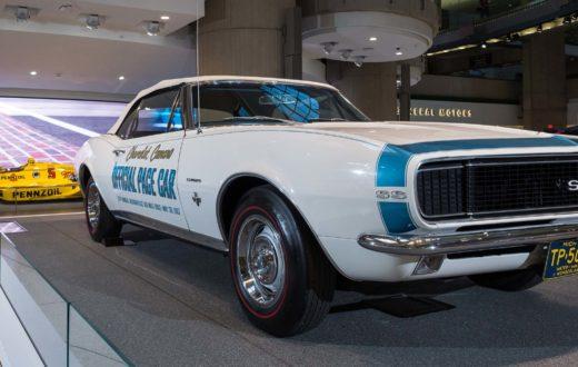Homenaje General Motors al automovilismo en la sede mundial de Detroit