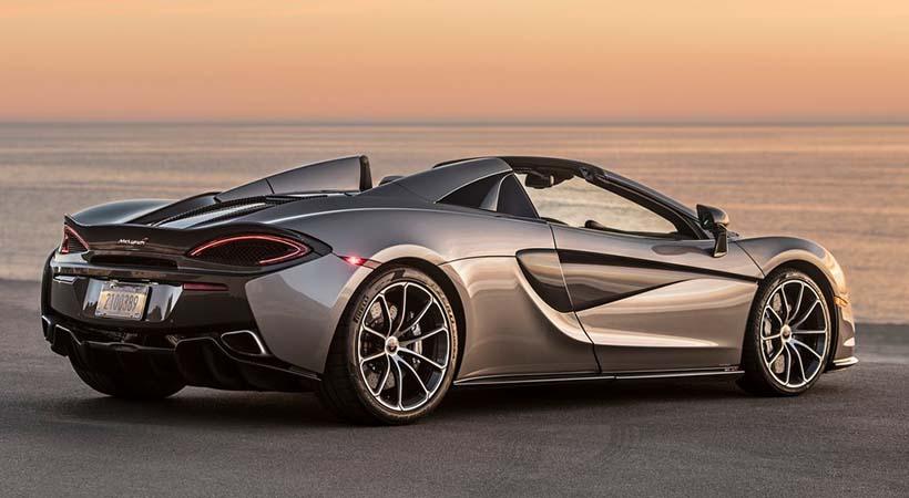 Video McLaren 570S Spider 2018