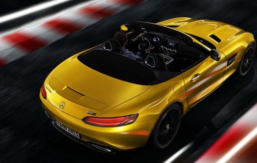 Mercedes-AMG GT S Roadster 2019