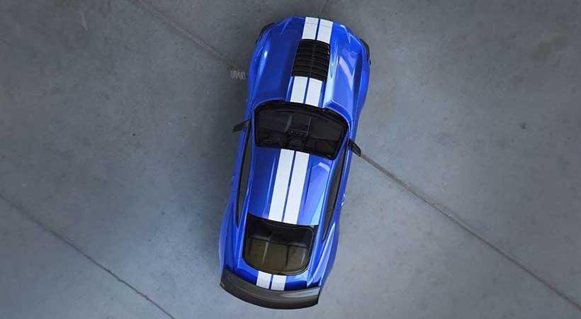 nueva foto del Mustang Shelby GT500