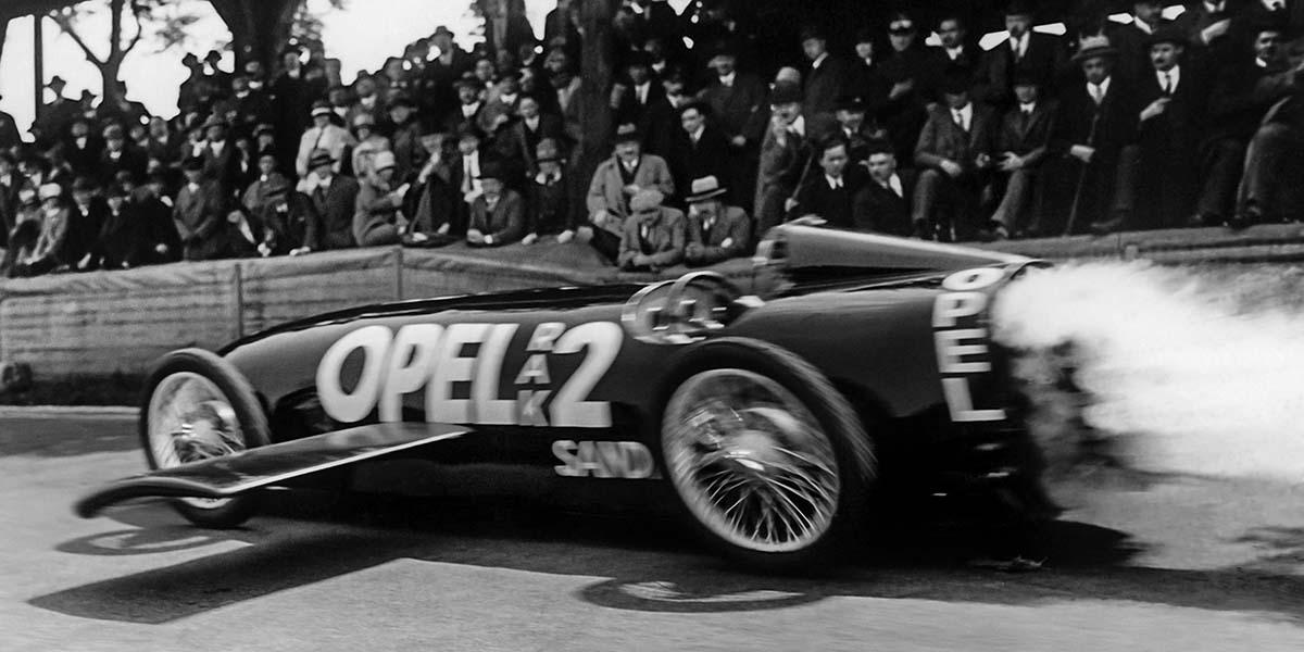 Opel RAK 2, auto cohete que cautivó al mundo hace 90 años