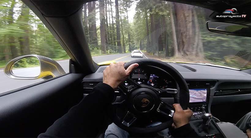 Video Porsche 911 Carrera T 2018
