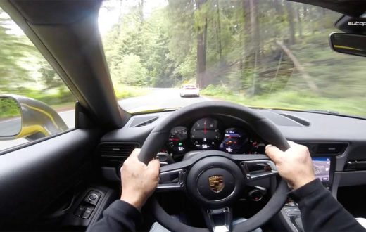Video Porsche 911 Carrera T 2018