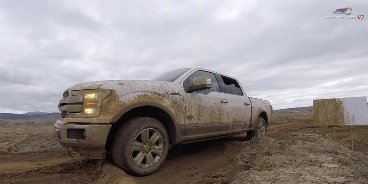 Video Test Drive Ford F-150 Power Stroke Diesel 2018 en off-road