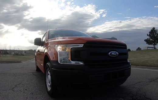 Test Drive Ford F-150 Power Stroke Diesel 2018
