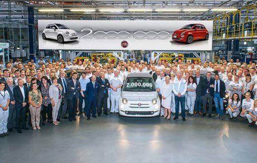 Fiat 500 dos millones salió de la planta Tychy en Polonia
