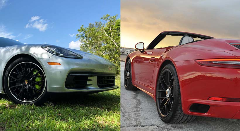 Doble Test Drive Porsche en Miami
