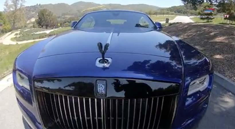 Rolls-Royce Wraith Black Badge 2018