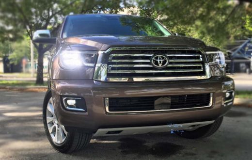 Test Drive Toyota Sequoia Platinum 2018