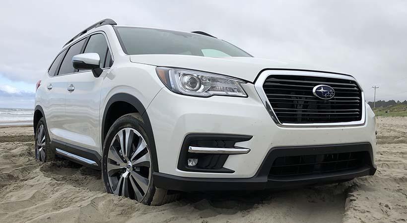 Test Drive Subaru Ascent 2019