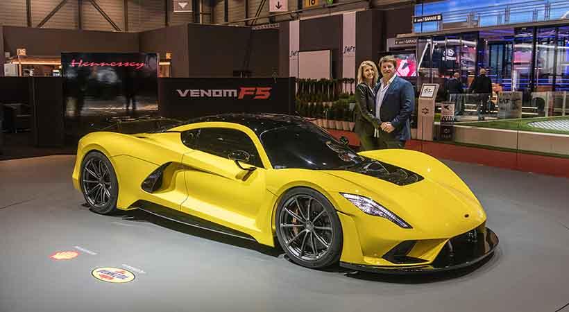 Hennessey Venom F5, el hypecar más rápido del mundo