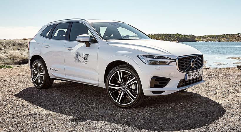 Volvo Cars con 25% de plásticos reciclados para 2025
