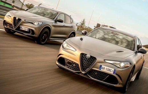 Alfa Romeo NRING, ediciones especiales del Guiulia y Stelvio Quadrifoglio