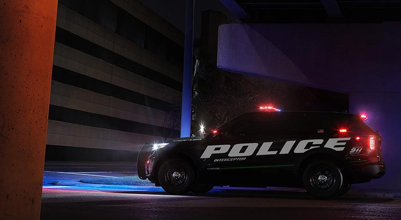 Ford Police Interceptor Hybrid, más rápido, más feroz, más eficiente