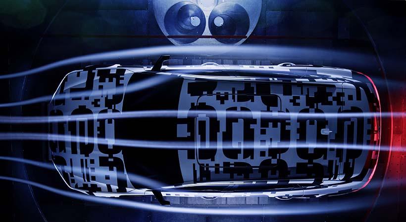 Audi e-tron Prototype en el túnel de viento