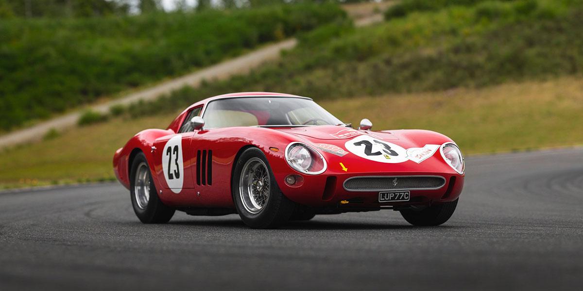 Ferrari 250 GTO será subastado