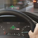 Ford Focus con head up display