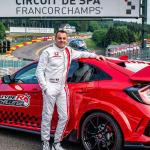 Honda Civic Type R rompe otro récord, ahora en Bélgica